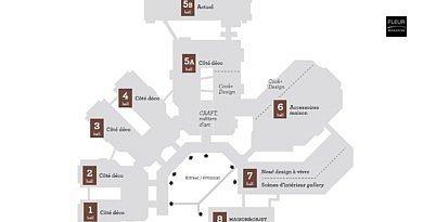 Maison&Objet: new floorplan