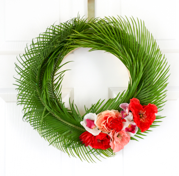 Tropical Wreath 15 Fleurcreatif Com