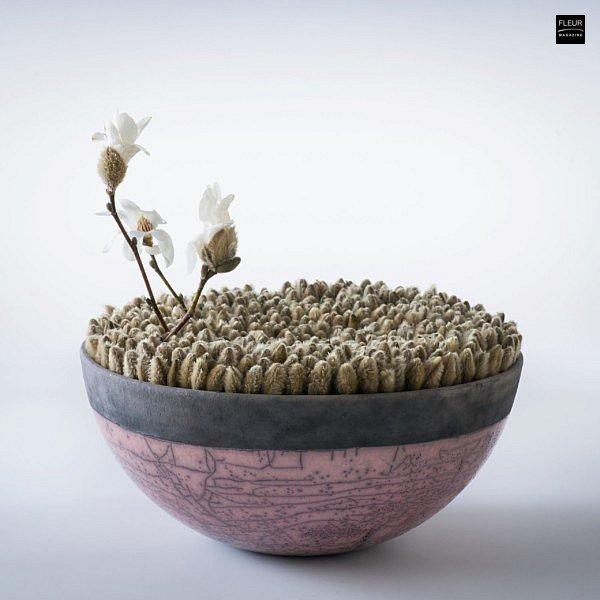 Hideyuki Niwa floral art floral book monography Botanical Metamorphosis floral designs ikebana