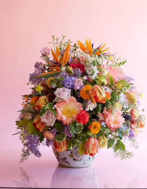 elements per benjamin flowers floral designer contemporary Interflora Norway floral design Carnation, Chrysanthemum, Limonium