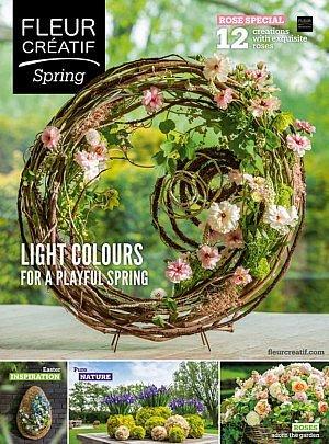 Fleur Créatif Spring 2020 edition 1 rose special easter inspiration nature garden flowers design floral art ideas florist colour Hellebore Floos Yuko Takagi EMC