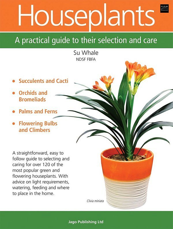 Houseplants care tips information interior succulents cacti orchids bromeliads palms ferns flowering bulbs climbers flowers plants lovers florists practical guide selection care magazin Fleur Creatif read books new book webshop shop online bookshop bookstore