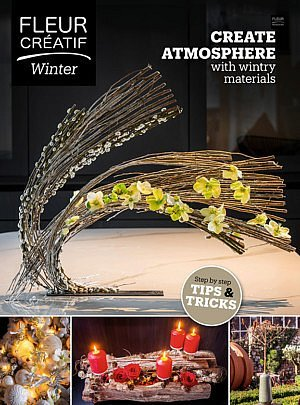 Fleur Créatif winter 2020 is out now! New magazine for lovers of floral art flower magazine european floral designers subscibe subscription floral creation floral ideas flower inspiration floral inspiration floral design master floral artist