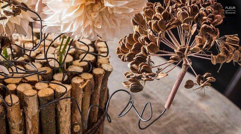klaus Wagener master floral artist instagram winter design winter creations inspiration fleur creatif magazine tips tricks christmas