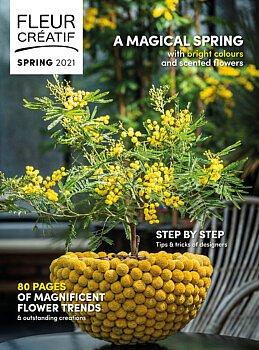 fleur créatif magazine fleur creatif spring 2021 new magazine floral art florist floristry flowers flower lovers step by step instructions
