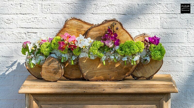 Fleur Créatif Magazine: Try this amazing floral DIY! A beautiful arrangement for the spring garden and lovely to make for all florists and flower lovers.