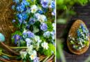 Floral DIY | Flowery Easter Egg
