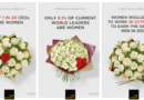 Interflora highlights gender inequality with new bouquets