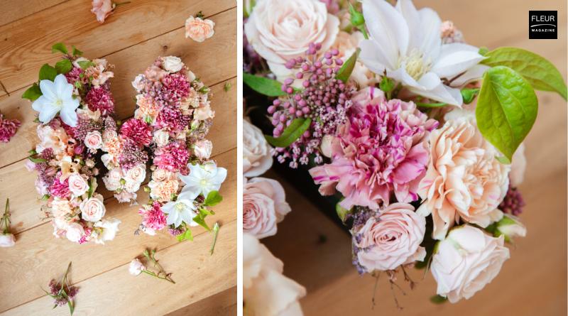 Fleur Creatif Magazine: Mother's Day in the UK: Floral Monogram