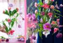 DIY: Special Flower Chandelier