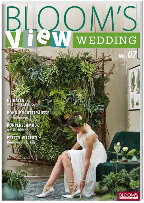 New in the Fleur Créatif Bookshop: Bloom's VIEW Wedding 201 n°7. Full of wedding inspiration!