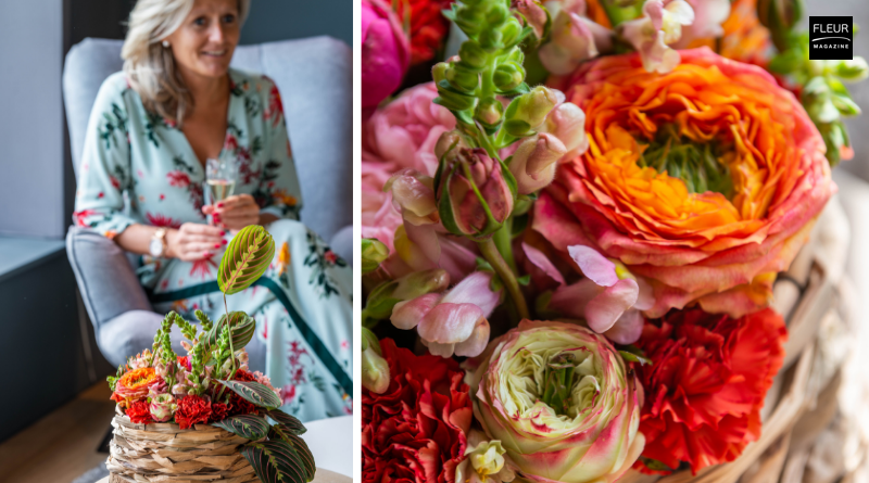 Fleur Creatif Magazine Exotic floral diy with step-by-step instructions.
