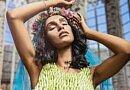 Breathtaking floral dress by Stefan Van Berlo