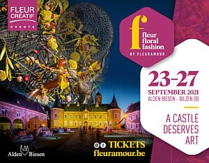 Fleur Creatif Magazine: Fleuramour Surprises with Fleur Floral Fashion in September 2021
