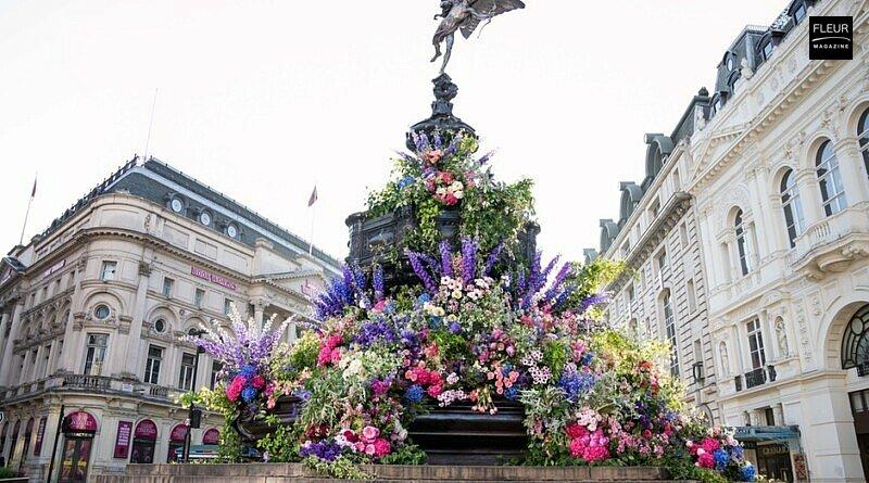 Fleur creatif magazine: GUERRILLA FLORAL ARTIST MAKES LONDON EXPLODE WITH FLOWERS