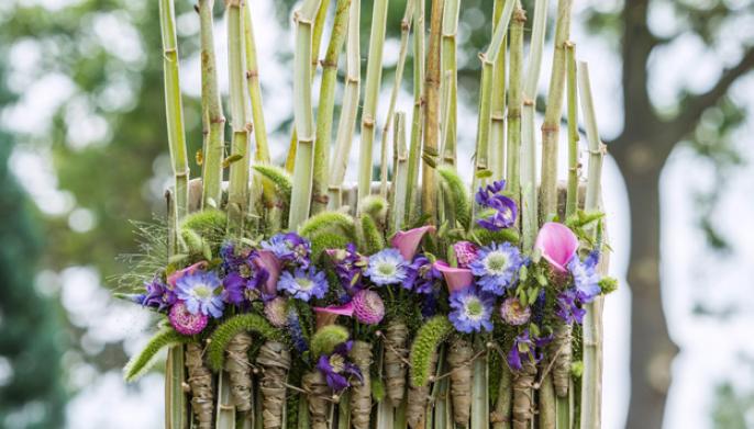 Fleur Créatif Magazine: DIY: How To Make A Flower Screen?