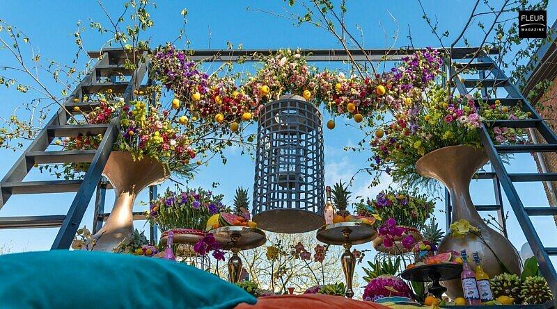Fleur Creatif Magazine: 'Wedding In The Mix' By Master Florist Stefan Van Berlo