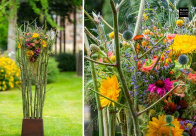 Fleur Créatif Magazine Floral DIY Flower Crafts Colourful flowers for summer