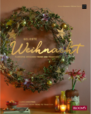 FLEUR BOOKSHOP: I Love Christmas, full of Christmas inspiration for florists and flower lovers. With four trendy colour themes and practical advice.