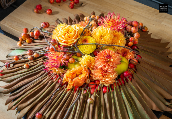 Fleur Creatif Magazine: Ready for the new season? Try this autumn DIY by floral designer Geert Pattyn.