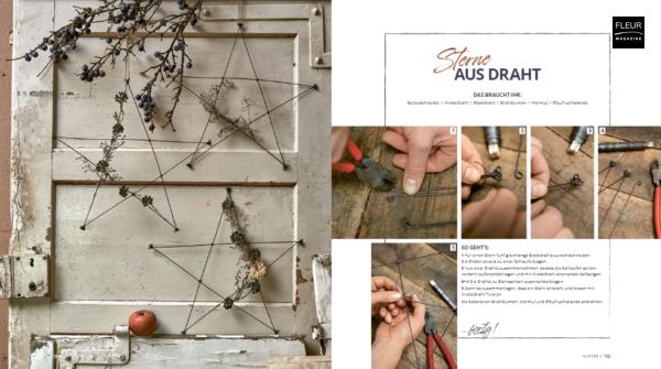 Fleur Creatif Magazine: Natürliche DEKO Floral books for Christmas
