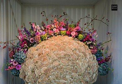 Fleur Creatif Magazine: Outstanding Floral Arrangements at Koket Koksijde in Belgium